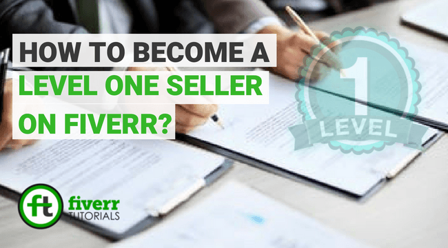 fiverr level one seller