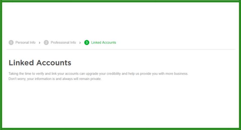 fiverr linked accounts fiverr profile create fiverr profie how to create fiverr profille fiverr seller profile