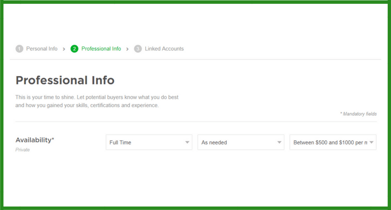 fiverr profile, fiverr seller profile, create fiverr seller profile,how to create fiverr profile