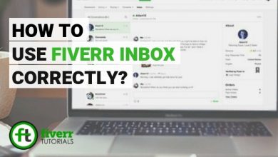 how to fiverr inbox?